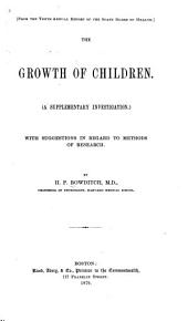 The Growth of Children: A Supplementary Investigation