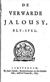 De verwarde jalousy: blyspel, Volume 1