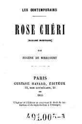 Rose Chéri (Madame Montigny)