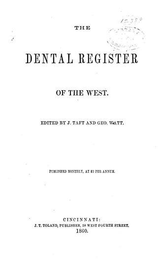 The Dental Register PDF