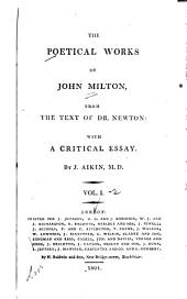 The Poetical Works of John Milton: From the Text of Dr. Newton, Volumes 1-2