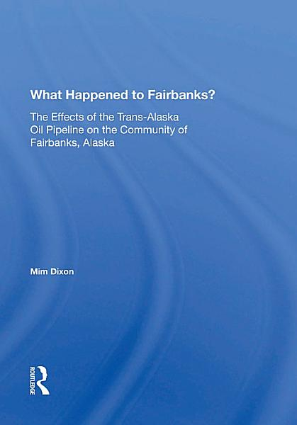 Download What Happened To Fairbanks  Book