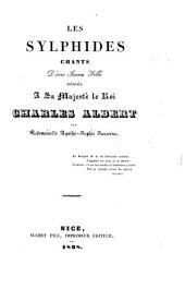 Les Sylphides: chants d'une jeune fille dédiés à sa Majesté le Roi Charles Albert