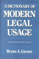 A Dictionary of Modern Legal Usage PDF