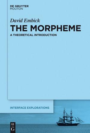 The Morpheme PDF