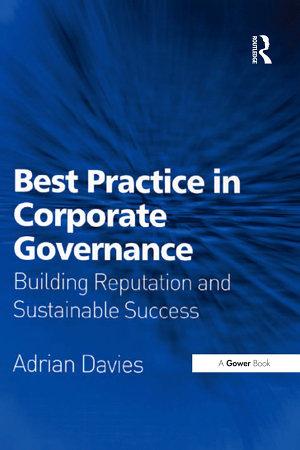 Best Practice in Corporate Governance PDF