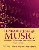Fundamentals of Music