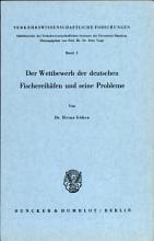 Der Wettbewerb der deutschen Fischereihafen und seine Probleme PDF