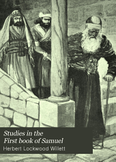 Studies in the First Book of Samuel: For the Use of Classes in Secondary Schools and in the Secondary Division of the Sunday School
