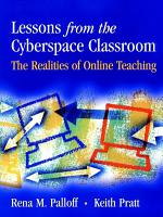 Lessons from the Cyberspace Classroom PDF