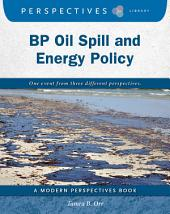 BP Oil Spill and Energy Policy