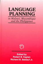 Language Planning in Malawi, Mozambique and the Philippines