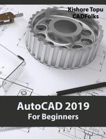 AutoCAD 2019 For Beginners PDF