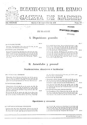 Bolet  n oficial del estado  Gaceta de Madrid PDF
