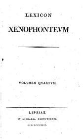 Lexicon Xenophonteum: Volume 4