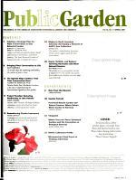 The Public Garden PDF