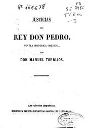 Justicias del rey don Pedro: novela histórica original