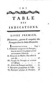 Histoire philosophique et politique des établissements et du commerce des Européens dans les deux Indes: Volume1