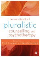 The Handbook of Pluralistic Counselling and Psychotherapy PDF