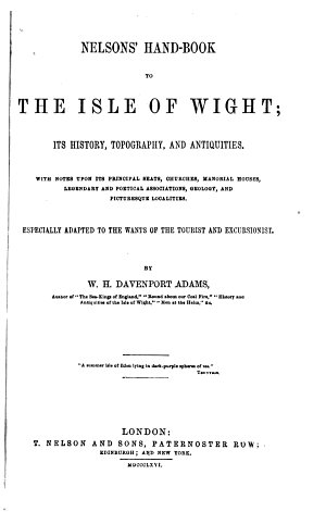 Nelson s Handbook to the Isle of Wight