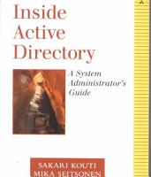Inside Active Directory PDF