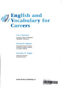 English and Vocabulary for Careers