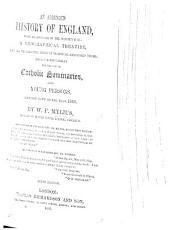 An Abridged History of England, designed principally for the use of Catholic Seminaries
