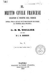 Il diritto civile francese secondo l'ordine del codice: 5