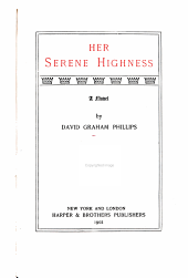 Her Serene Highness: a novel
