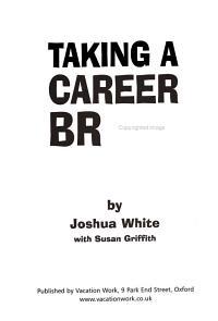 Taking a Career Break PDF