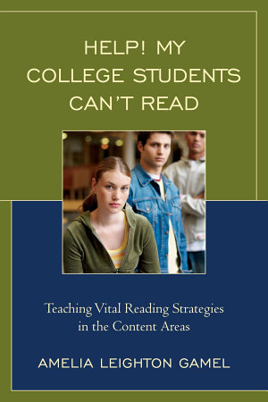 Help! My College Students Can't Read