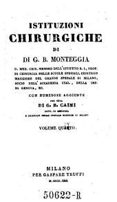 Istituzioni chirurgiche ... aumentate di numerose aggiunte per cura di G. B. Caimi: Volume 5