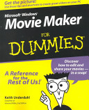 Microsoft Windows Movie Maker For Dummies PDF