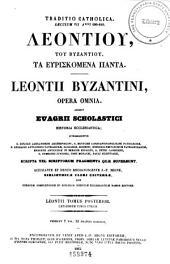 Patrologiæ cursus completus: seu, Bibliotheca universalis, integra, uniformis, commoda, oeconomica omnium SS. patrum, doctorum, scriptorumque ecclesiasticorum. Series græca, Volume 86