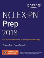 NCLEX PN Prep 2018 PDF