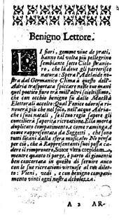 L'Adelaide regia principessa di Susa. Dramma musicale da Gio. Battista Rodoteo Veneto