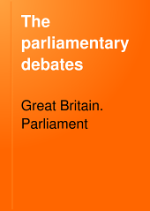 The Parliamentary Debates: Volume 195