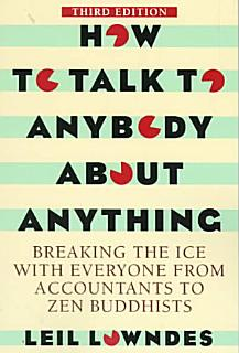 How to Talk to Anybody About Anything Book