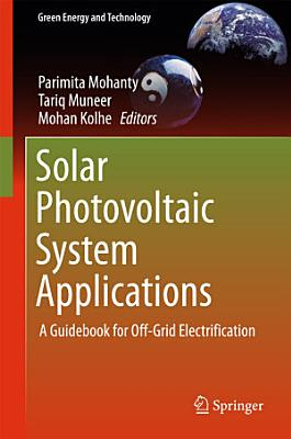Solar Photovoltaic System Applications PDF