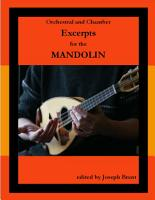 Orchestral and Chamber Excerpts for Mandolin PDF