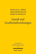 Gewalt Und Gesellschaftsordnungen PDF