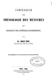 Compendium der Physiologie des Menschen ...