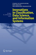 Innovations in Classification, Data Science, and Information Systems