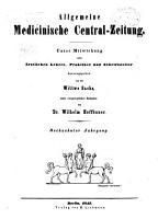 Allgemeine medicinische Central Zeitung PDF