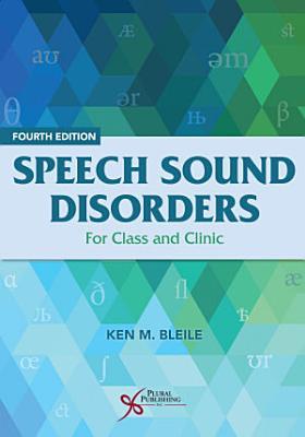 Speech Sound Disorders PDF