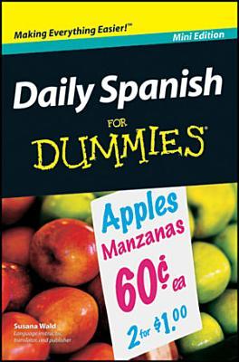 Daily Spanish For Dummies    Mini Edition PDF