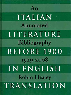 Italian Literature Before 1900 in English Translation PDF