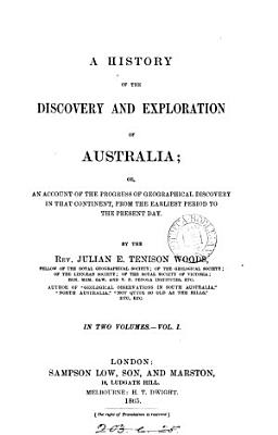 A History of the Discovery and Exploration of Australia PDF