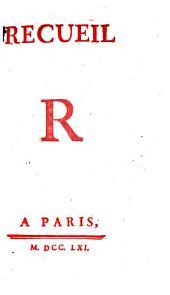 Recueil: R, Volume17
