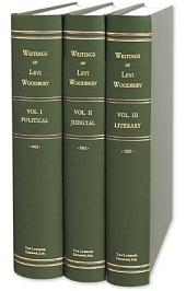 Writings of Levi Woodbury, Ll.d.: Political, Judicial And Literary